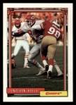 1992 Topps #168  Jonathan Hayes  Front Thumbnail