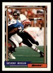 1992 Topps #209  Anthony Morgan  Front Thumbnail