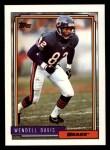 1992 Topps #262  Wendell Davis  Front Thumbnail