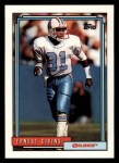 1992 Topps #187  Ernest Givins  Front Thumbnail