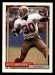 1992 Topps #382  Keith Henderson  Front Thumbnail