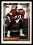 1992 Topps #371  Robert Massey  Front Thumbnail