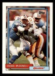 1992 Topps #391  Bubba McDowell  Front Thumbnail
