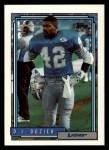 1992 Topps #407  D.J. Dozier  Front Thumbnail
