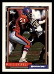 1992 Topps #400  Mike Croel  Front Thumbnail