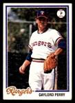 1978 Topps #686  Gaylord Perry  Front Thumbnail