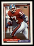 1992 Topps #572  Steve Atwater  Front Thumbnail
