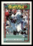 1992 Topps #523  Dexter McNabb  Front Thumbnail