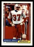 1992 Topps #501  Maurice Hurst  Front Thumbnail