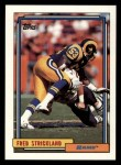1992 Topps #659  Fred Strickland  Front Thumbnail