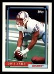 1992 Topps #531  John Flannery  Front Thumbnail