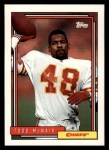 1992 Topps #628  Todd McNair  Front Thumbnail