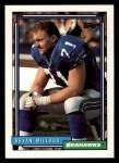 1992 Topps #484  Bryan Millard  Front Thumbnail