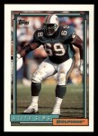 1992 Topps #614  Keith Sims  Front Thumbnail