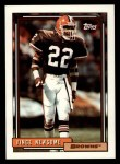 1992 Topps #470  Vince Newsome  Front Thumbnail