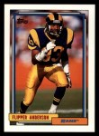 1992 Topps #604  Flipper Anderson  Front Thumbnail