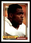 1992 Topps #492  Wilber Marshall  Front Thumbnail
