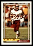 1992 Topps #637  Gary Clark  Front Thumbnail