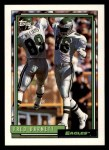 1992 Topps #576  Fred Barnett  Front Thumbnail