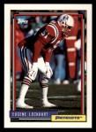 1992 Topps #608  Eugene Lockhart  Front Thumbnail