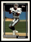 1992 Topps #612  Tim Brown  Front Thumbnail