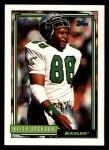 1992 Topps #489  Keith Jackson  Front Thumbnail
