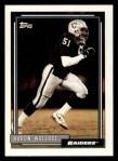 1992 Topps #584  Aaron Wallace  Front Thumbnail