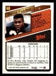 1993 Topps #68  David Fulcher  Back Thumbnail