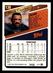 1993 Topps #138  Mark Carrier  Back Thumbnail