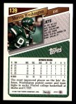 1993 Topps #139  Marvin Washington  Back Thumbnail