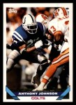 1993 Topps #9  Anthony Johnson  Front Thumbnail