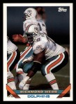 1993 Topps #144  Richmond Webb  Front Thumbnail