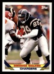 1993 Topps #116  Derrick Walker  Front Thumbnail