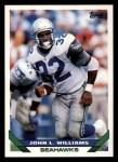 1993 Topps #110  John L. Williams  Front Thumbnail