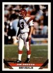 1993 Topps #114  Jim Breech  Front Thumbnail