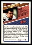 1993 Topps #51  Kent Hull  Back Thumbnail