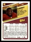 1993 Topps #36  Larry Centers  Back Thumbnail
