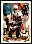 1993 Topps #36  Larry Centers  Front Thumbnail