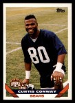1993 Topps #12  Curtis Conway  Front Thumbnail