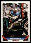 1993 Topps #229  Sean Jones  Front Thumbnail