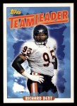 1993 Topps #172   -  Richard Dent Bears Leaders Front Thumbnail
