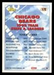 1993 Topps #172   -  Richard Dent Bears Leaders Back Thumbnail
