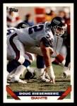 1993 Topps #158  Doug Riesenberg  Front Thumbnail