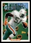 1993 Topps #293   -  Bryan Cox Field Generals Front Thumbnail