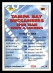1993 Topps #183   -  Reggie Cobb Buccaneers Leaders Back Thumbnail