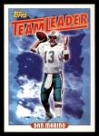 1993 Topps #269   -  Dan Marino Dolphins Leaders Front Thumbnail