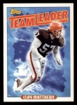 1993 Topps #263   -  Clay Matthews Browns Leaders Front Thumbnail