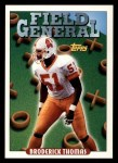 1993 Topps #300   -  Broderick Thomas Field Generals Front Thumbnail