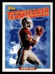 1993 Topps #182   -  Jerry Rice 49ers Leaders Front Thumbnail