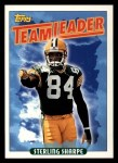 1993 Topps #175   -  Sterling Sharpe Packers Leaders Front Thumbnail